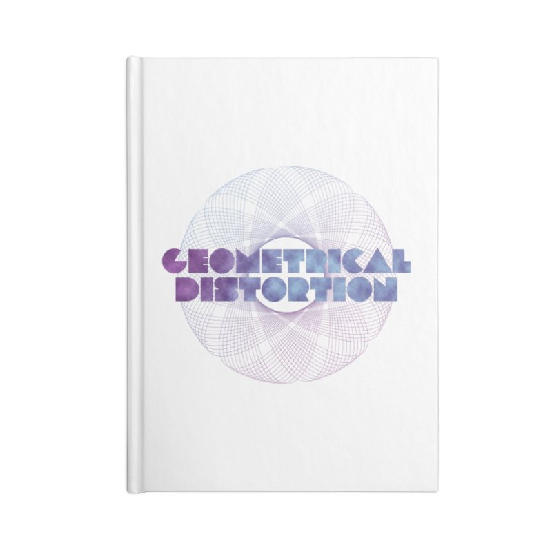 Geometrical distortion Accessories Notebook by virbia's Artist Shop
