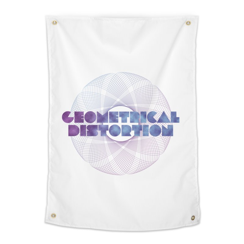 Geometrical distortion Home Tapestry by virbia's Artist Shop