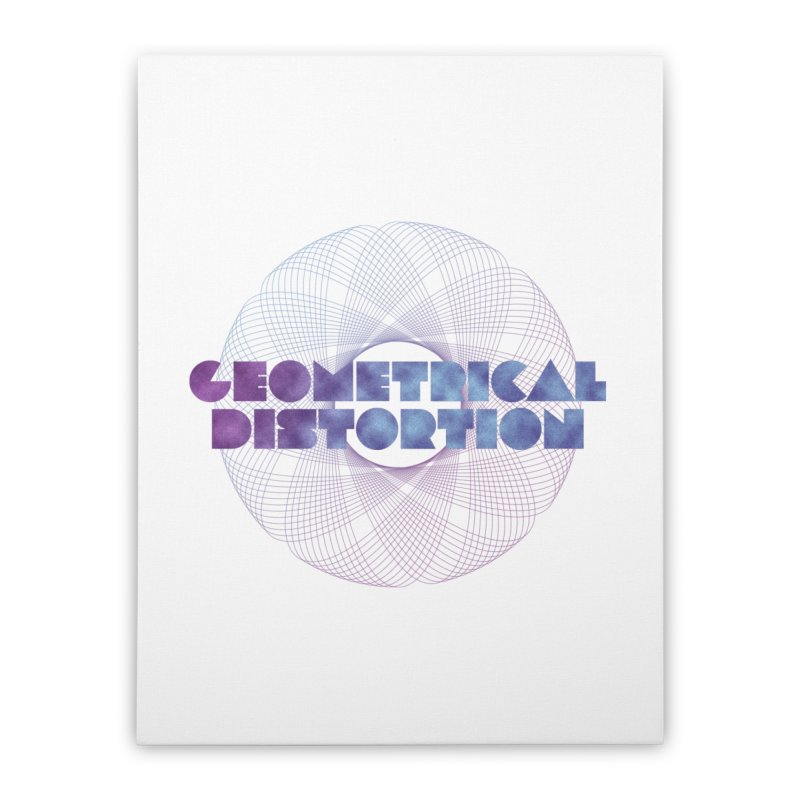 Geometrical distortion Home Stretched Canvas by virbia's Artist Shop