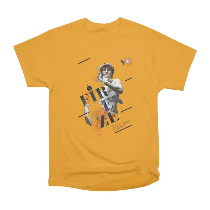 Firenze Michelangelo Men's Heavyweight T-Shirt by virbia's Artist Shop