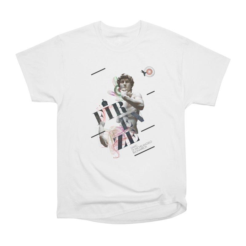Firenze Michelangelo Women's Heavyweight Unisex T-Shirt by virbia's Artist Shop