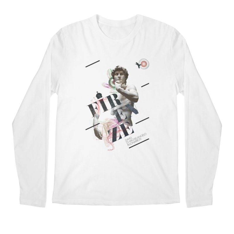 Firenze Michelangelo Men's Longsleeve T-Shirt by virbia's Artist Shop