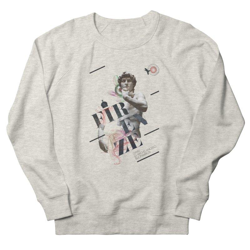Firenze Michelangelo Women's Sweatshirt by virbia's Artist Shop