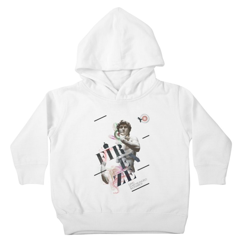 Firenze Michelangelo Kids Toddler Pullover Hoody by virbia's Artist Shop