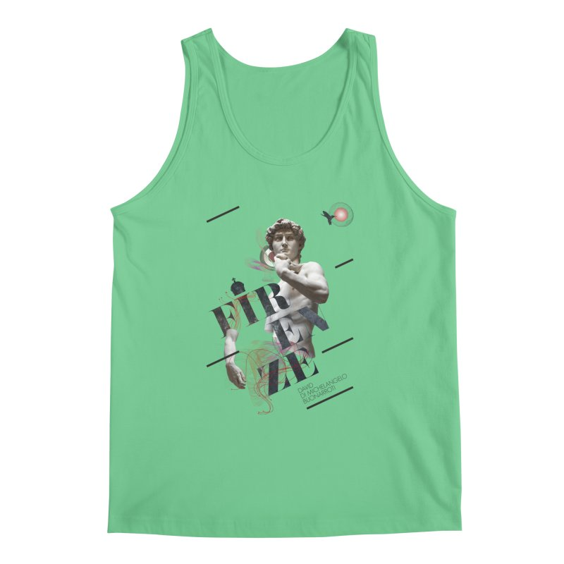 Firenze Michelangelo Men's Tank by virbia's Artist Shop