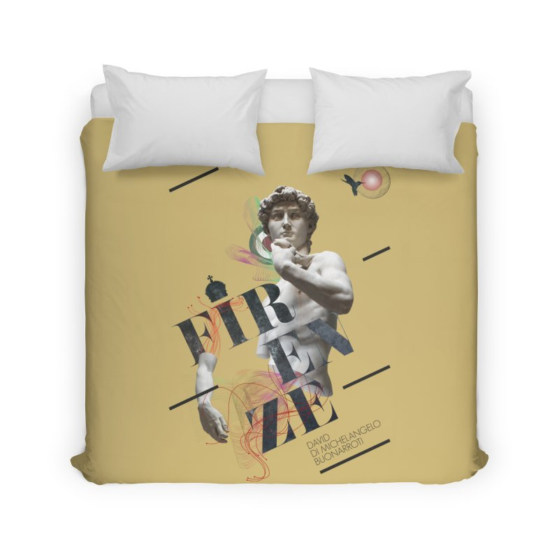 Firenze Michelangelo Home Duvet by virbia's Artist Shop