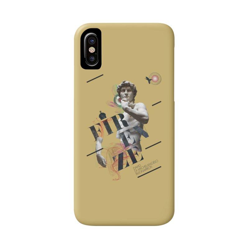 Firenze Michelangelo Accessories Phone Case by virbia's Artist Shop
