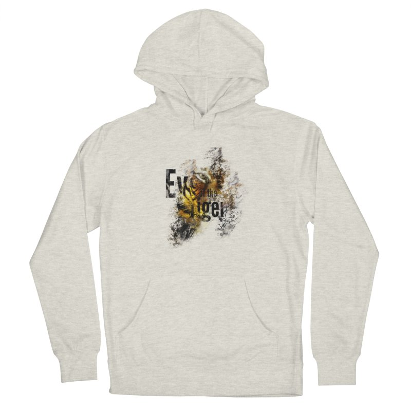 Eye of the tiger Men's Pullover Hoody by virbia's Artist Shop
