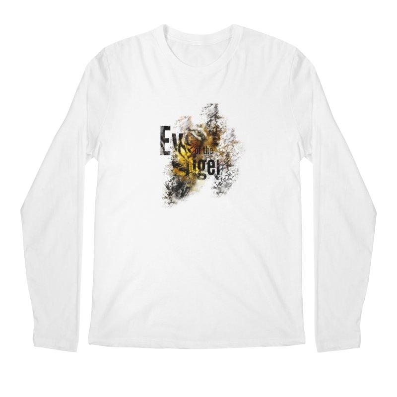 Eye of the tiger Men's Regular Longsleeve T-Shirt by virbia's Artist Shop
