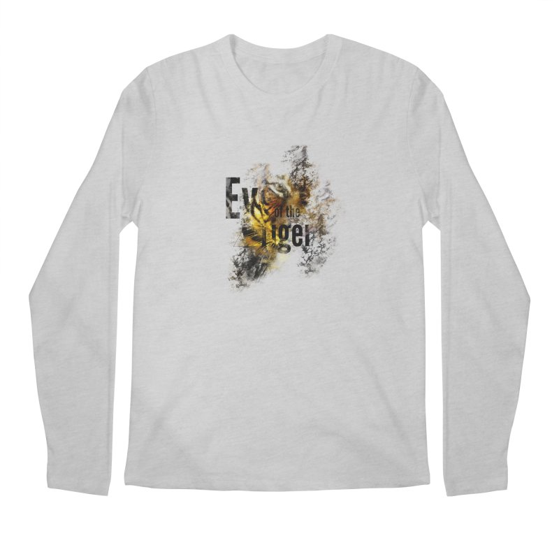Eye of the tiger Men's Longsleeve T-Shirt by virbia's Artist Shop