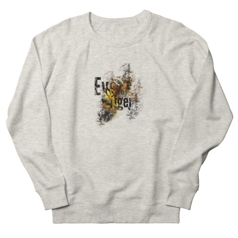 Eye of the tiger Men's Sweatshirt by virbia's Artist Shop