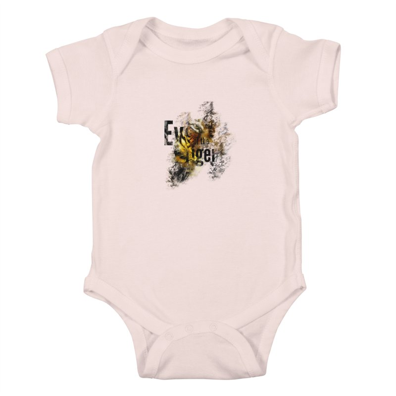 Eye of the tiger Kids Baby Bodysuit by virbia's Artist Shop