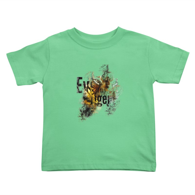 Eye of the tiger Kids Toddler T-Shirt by virbia's Artist Shop