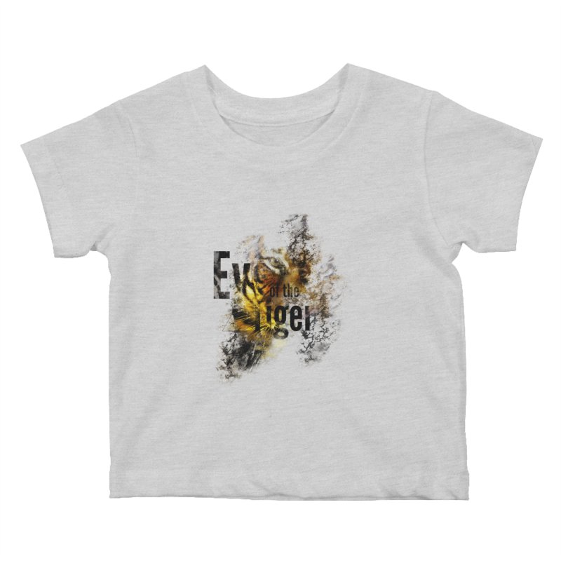 Eye of the tiger Kids Baby T-Shirt by virbia's Artist Shop