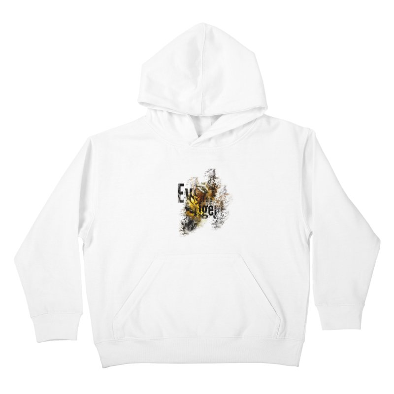 Eye of the tiger Kids Pullover Hoody by virbia's Artist Shop
