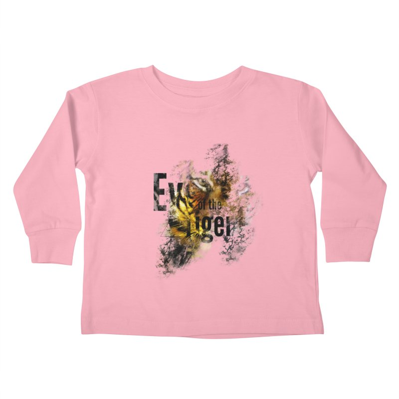 Eye of the tiger Kids Toddler Longsleeve T-Shirt by virbia's Artist Shop