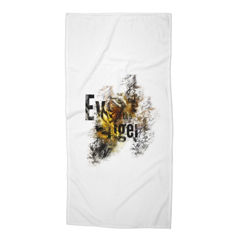Eye of the tiger Accessories Beach Towel by virbia's Artist Shop