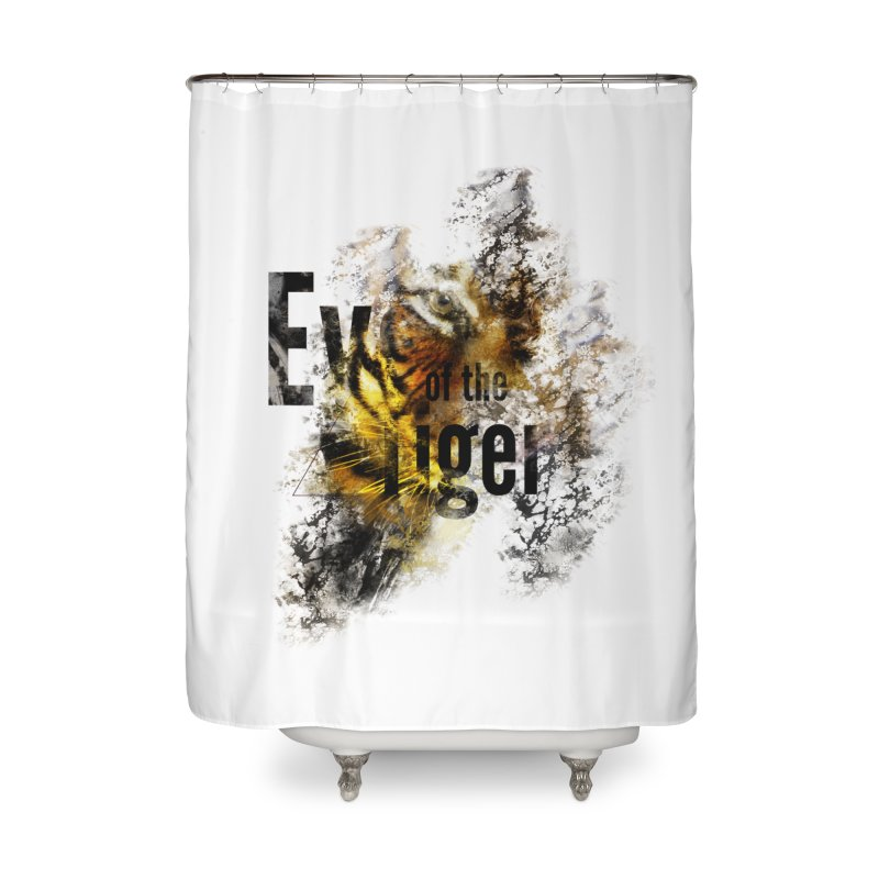 Eye of the tiger Home Shower Curtain by virbia's Artist Shop