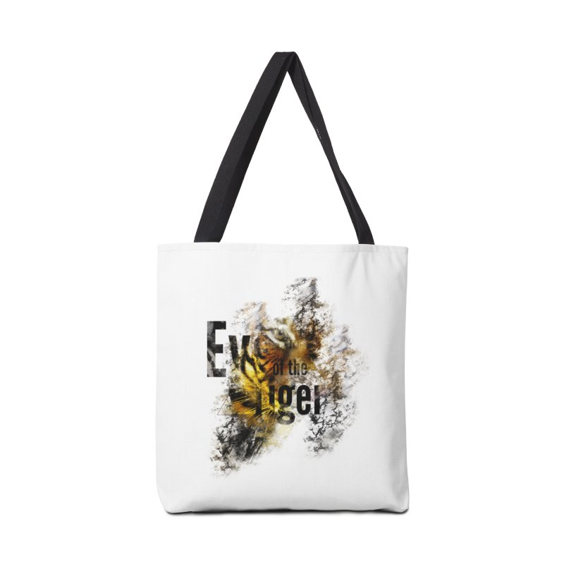 Eye of the tiger Accessories Bag by virbia's Artist Shop