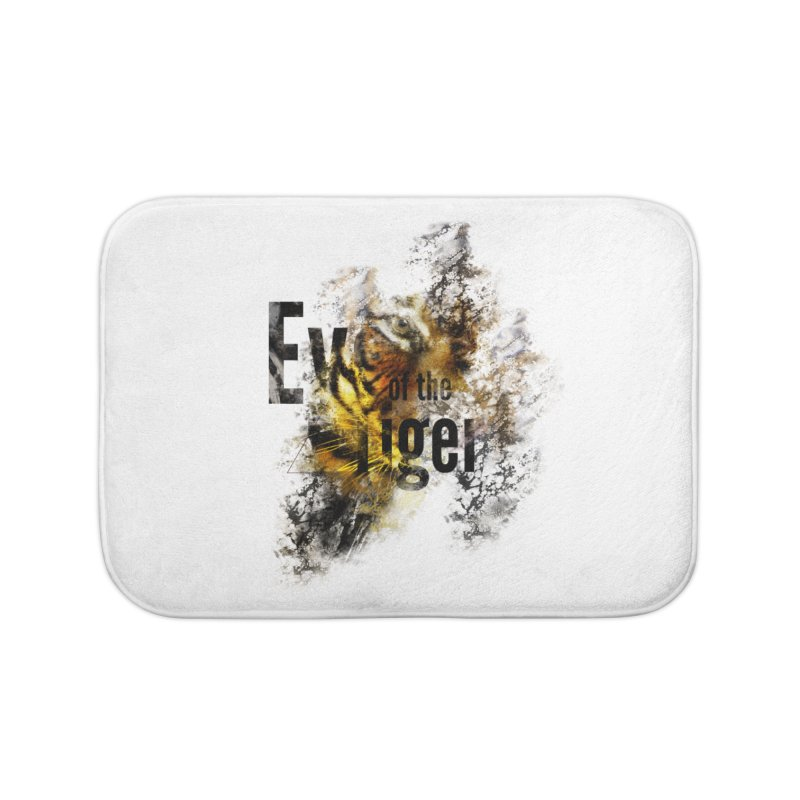 Eye of the tiger Home Bath Mat by virbia's Artist Shop