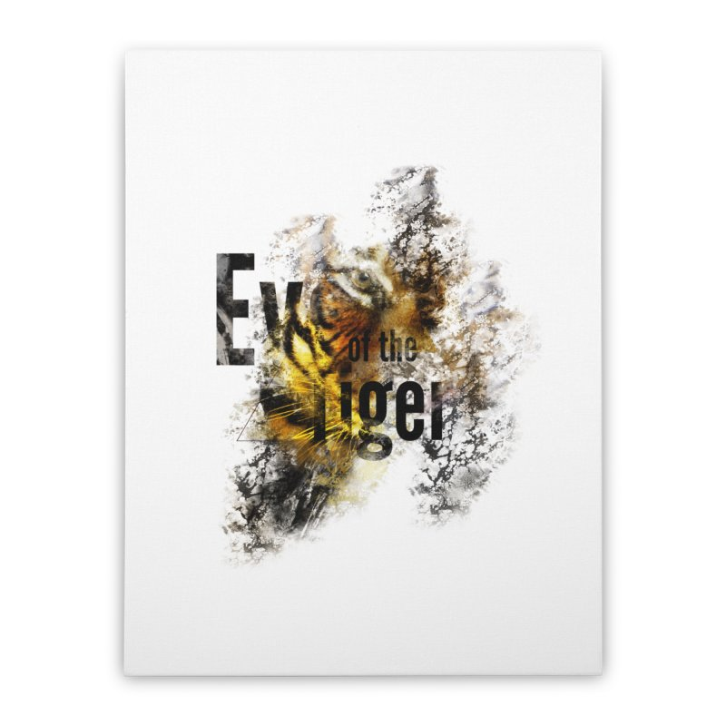Eye of the tiger Home Stretched Canvas by virbia's Artist Shop