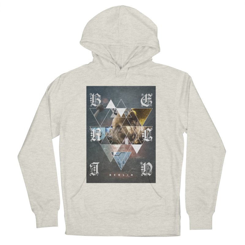 Berlin bear wall Women's Pullover Hoody by virbia's Artist Shop