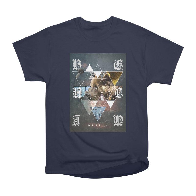 Berlin bear wall Men's Heavyweight T-Shirt by virbia's Artist Shop