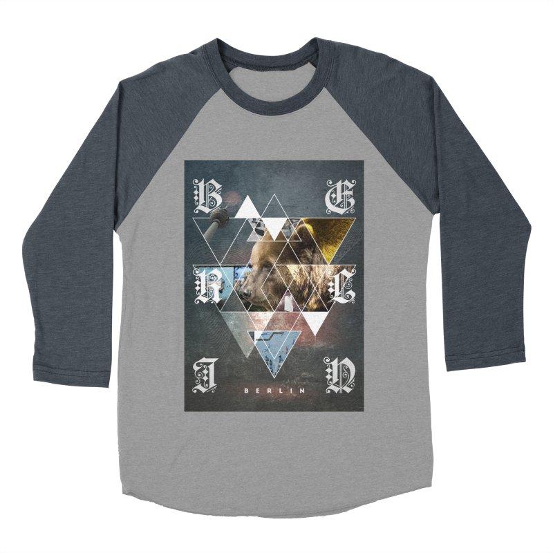 Berlin bear wall Women's Baseball Triblend T-Shirt by virbia's Artist Shop