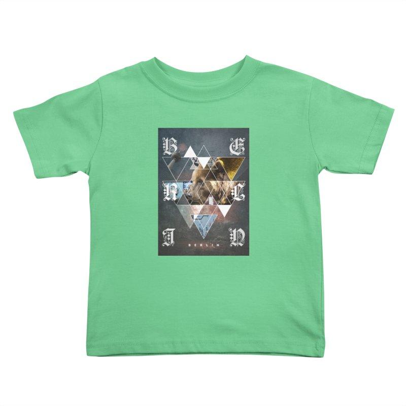 Berlin bear wall Kids Toddler T-Shirt by virbia's Artist Shop