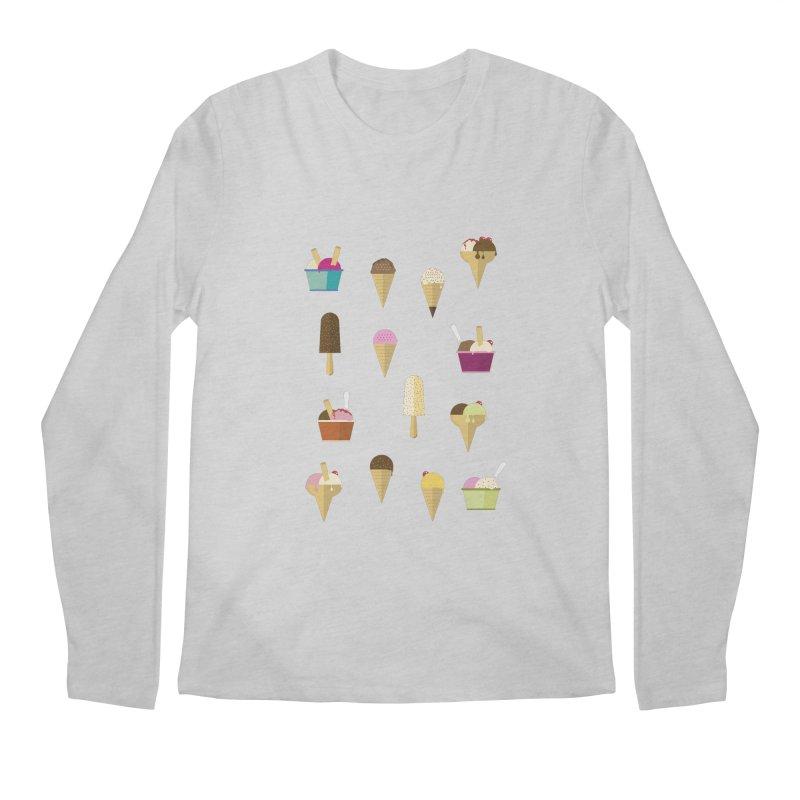 Sweet ice cream Men's Regular Longsleeve T-Shirt by virbia's Artist Shop