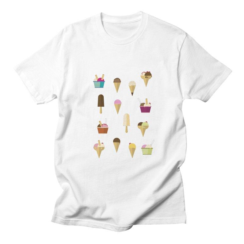 Sweet ice cream Women's Regular Unisex T-Shirt by virbia's Artist Shop