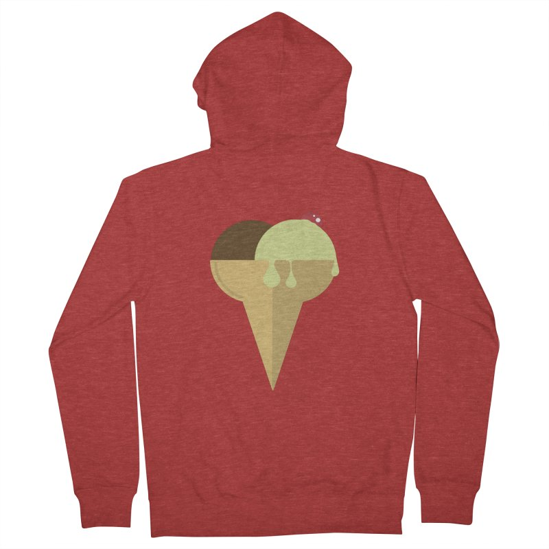 Sweet ice cream 4 Men's French Terry Zip-Up Hoody by virbia's Artist Shop