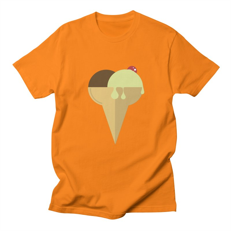Sweet ice cream 4 Women's Regular Unisex T-Shirt by virbia's Artist Shop