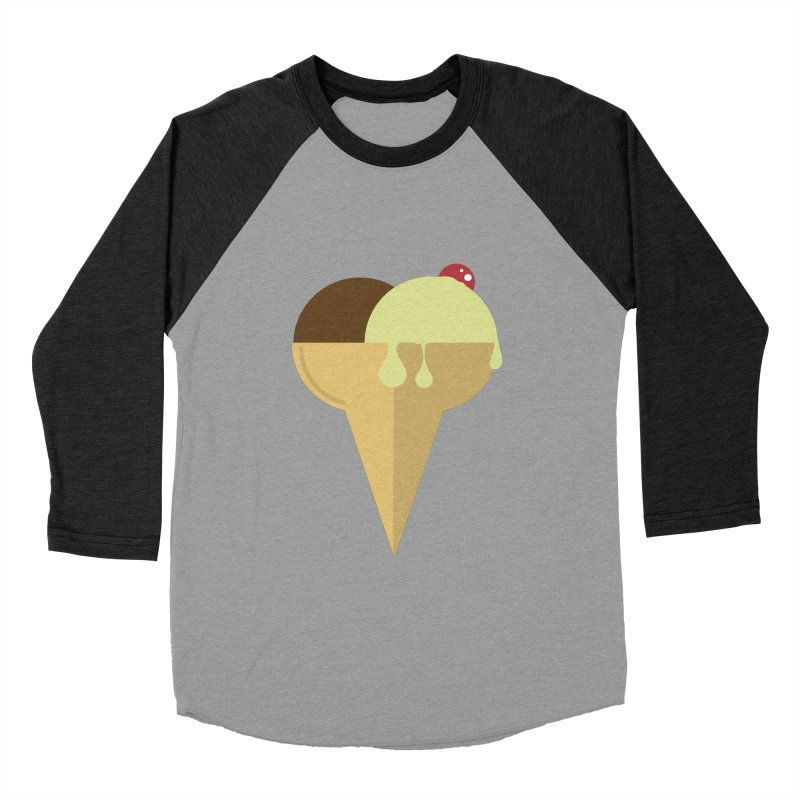 Sweet ice cream 4 Women's Baseball Triblend Longsleeve T-Shirt by virbia's Artist Shop