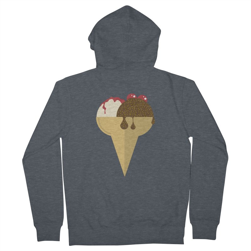 Sweet ice cream 5 Men's French Terry Zip-Up Hoody by virbia's Artist Shop