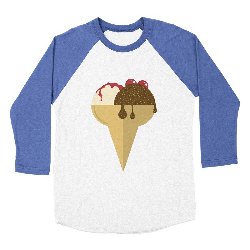 Sweet ice cream 5 Women's Baseball Triblend Longsleeve T-Shirt by virbia's Artist Shop