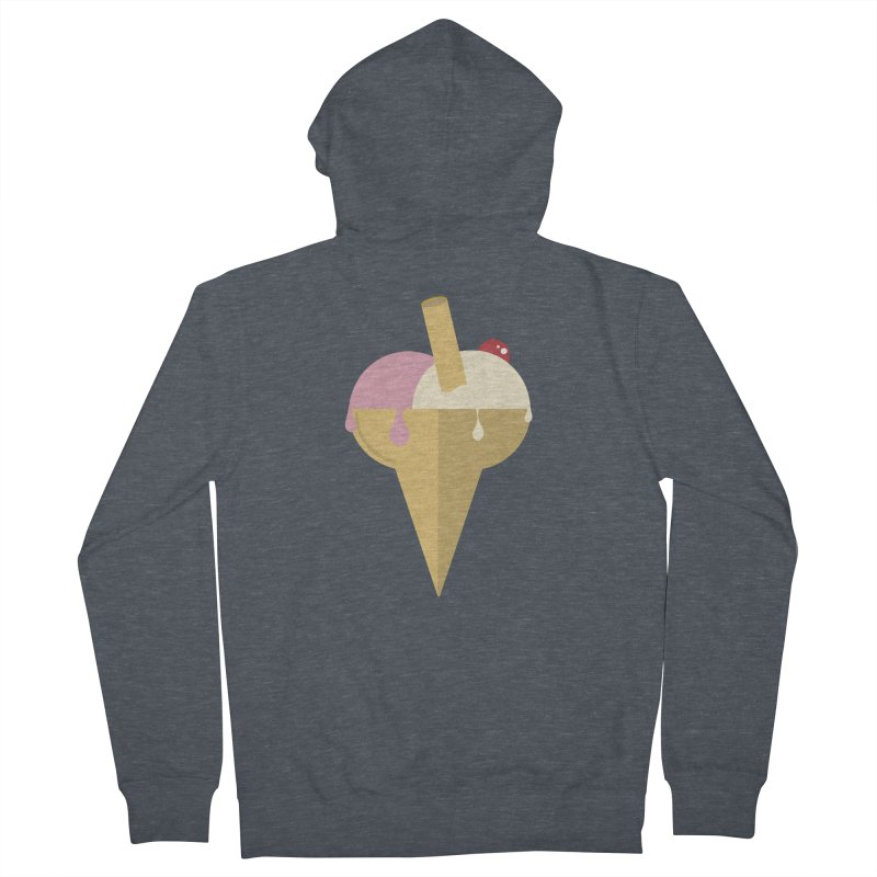 Sweet ice cream 6 Men's French Terry Zip-Up Hoody by virbia's Artist Shop