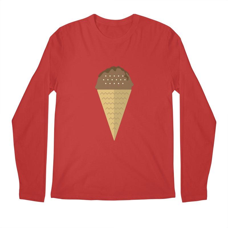 Sweet ice cream 8 Men's Regular Longsleeve T-Shirt by virbia's Artist Shop