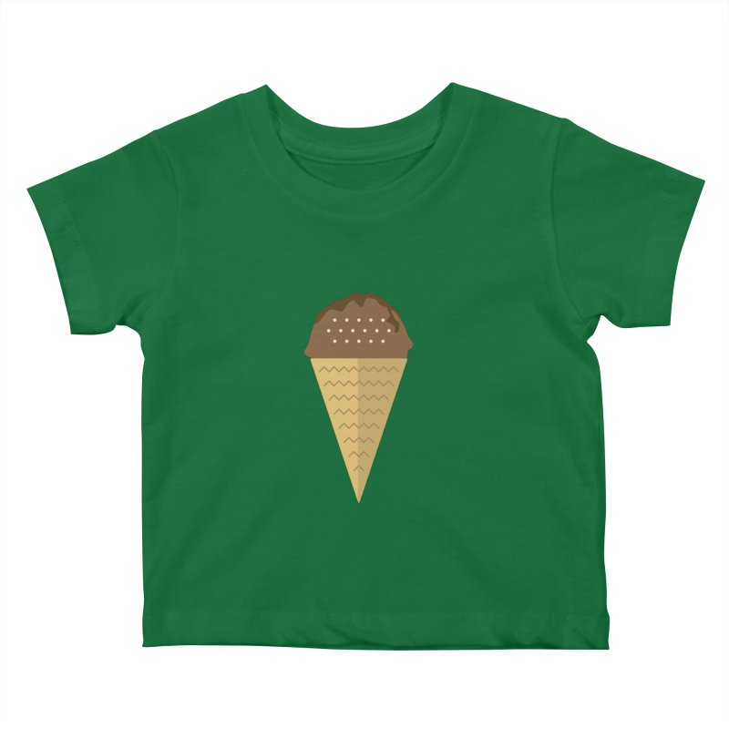 Sweet ice cream 8 Kids Baby T-Shirt by virbia's Artist Shop