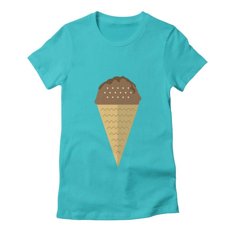 Sweet ice cream 8 Women's T-Shirt by virbia's Artist Shop