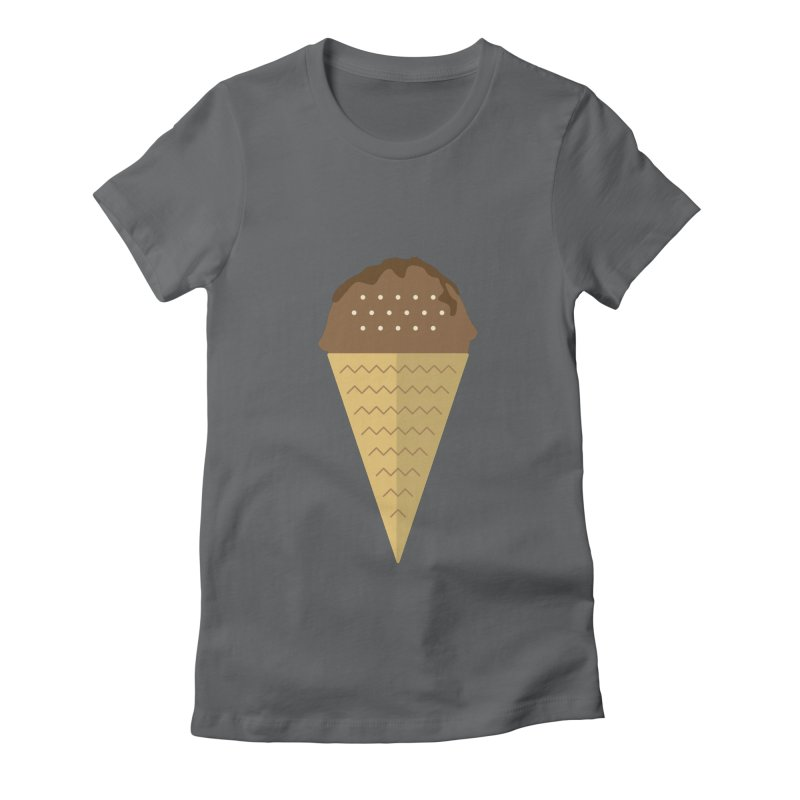 Sweet ice cream 8 Women's Fitted T-Shirt by virbia's Artist Shop