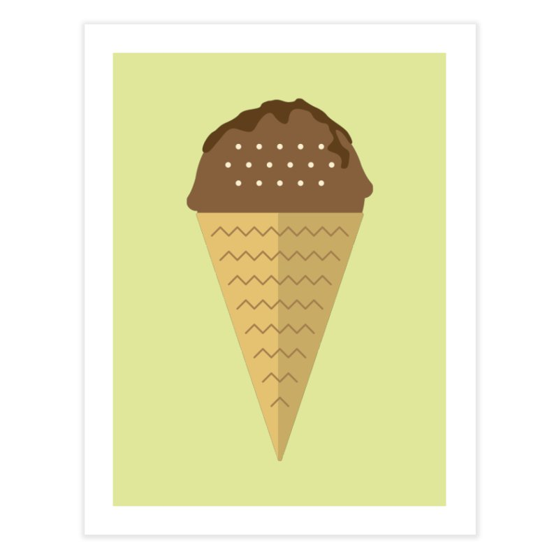 Sweet ice cream 8 Home Fine Art Print by virbia's Artist Shop