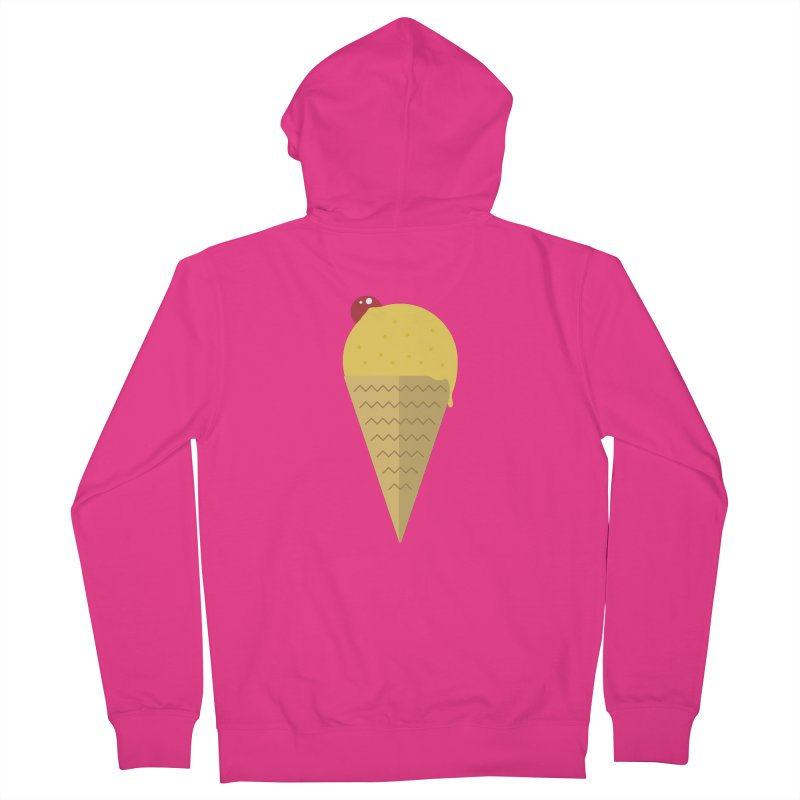 Sweet ice cream 9 Men's French Terry Zip-Up Hoody by virbia's Artist Shop