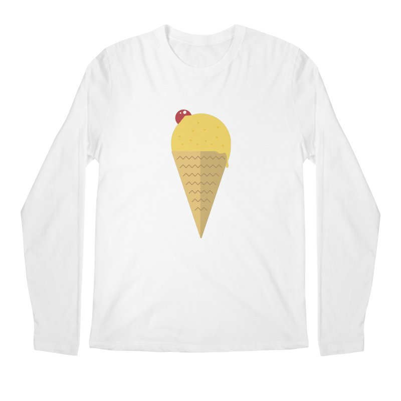Sweet ice cream 9 Men's Regular Longsleeve T-Shirt by virbia's Artist Shop