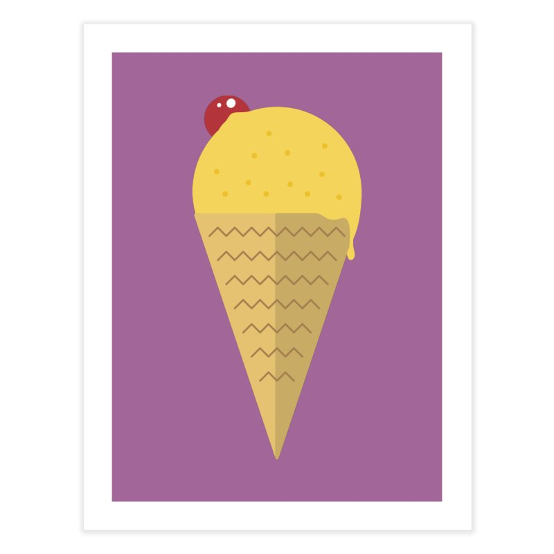 Sweet ice cream 9 Home Fine Art Print by virbia's Artist Shop