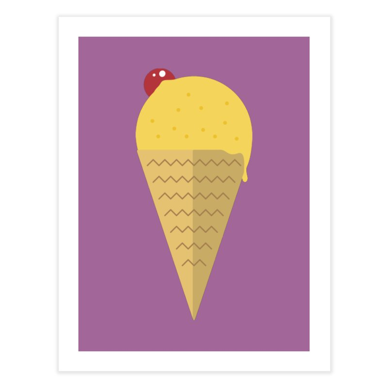 Sweet ice cream 9 Home Fine Art Print by virbia's Artist Shop