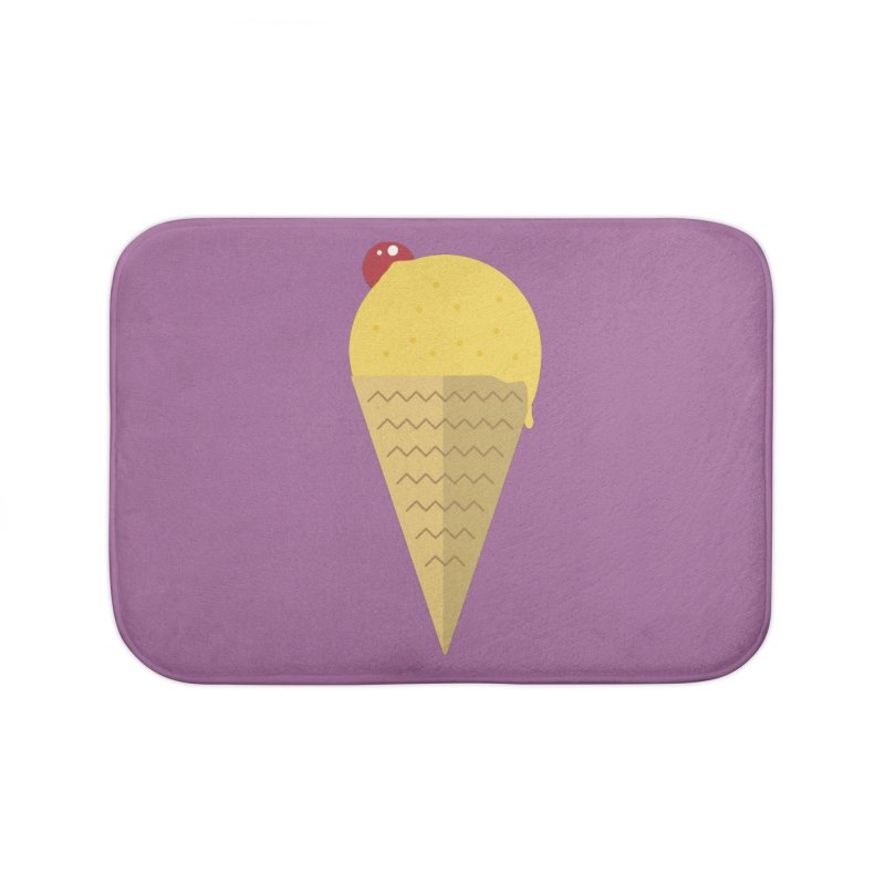 Sweet ice cream 9 Home Bath Mat by virbia's Artist Shop