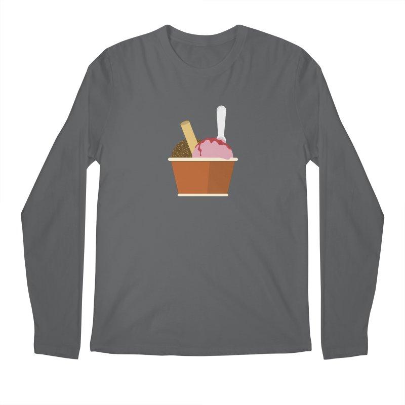 Sweet ice cream 10 Men's Longsleeve T-Shirt by virbia's Artist Shop