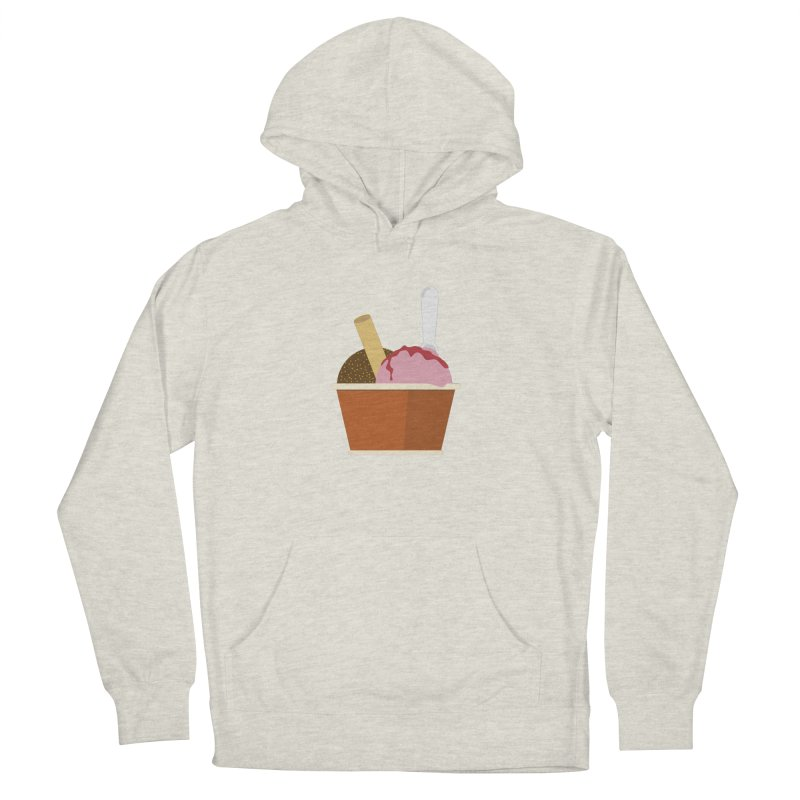 Sweet ice cream 10 Men's French Terry Pullover Hoody by virbia's Artist Shop