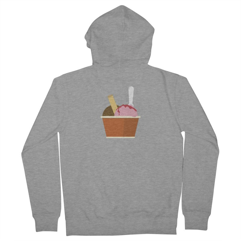 Sweet ice cream 10 Men's French Terry Zip-Up Hoody by virbia's Artist Shop